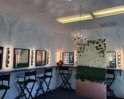 Really Cute Makeup Studio with Lights, East Los Angeles, CA