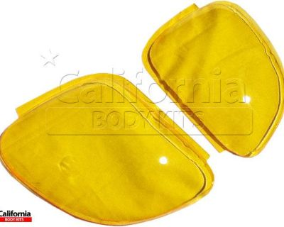 Cbk Plastic Cwes Headlight Lenses Yellow Mazda Rx-7 Fd3s 93-97 Ships From Us