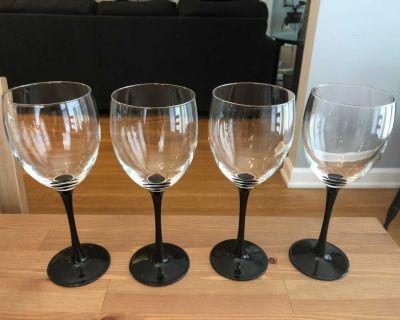 Luminarc Domino Signature Series Water/Wine Goblet Set