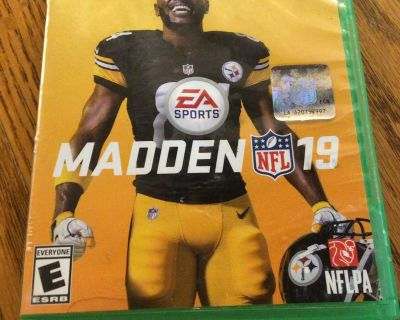 XBox One Madden 19 Game
