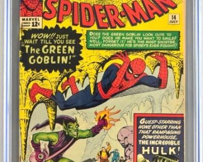 LIVE GALLERY Auction - Incredible Comic Book Collection