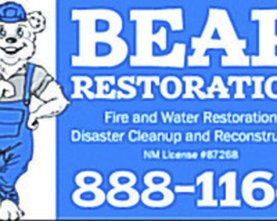 RESTORATION TECHNICIANS needed. Duties include cleaning of damaged homes and personal...