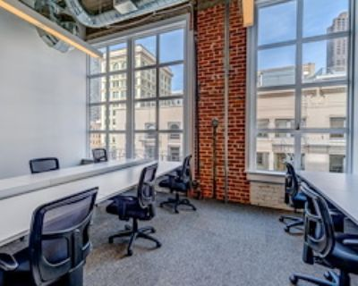 Team Office for 9 at TechSpace San Francisco, Union Square