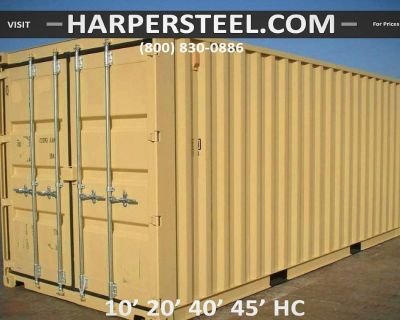 Steel Shipping Containers in Denver - Largest Selection W/Delivery Options!
