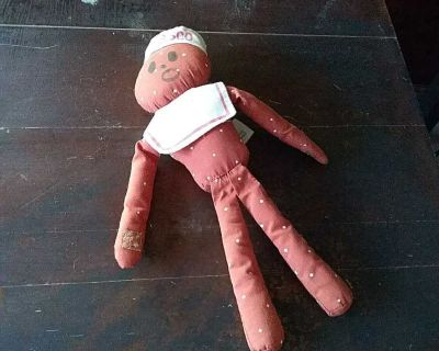 Nabisco Mister salty vintage stuffed animal