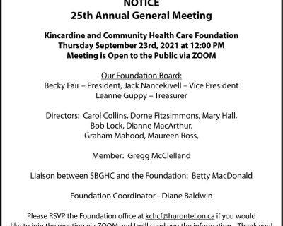 NOTICE 25th Annual General Mee...