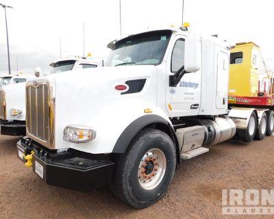 2019 Peterbilt 567 8x4 Tri/A Sleeper Truck Tractor