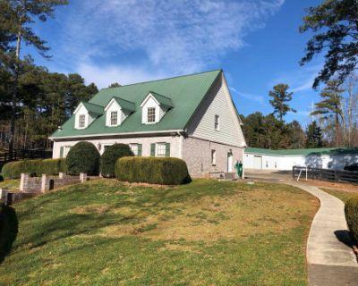 Rustic 5 Acre Estate in Horse Farm Community, Johns Creek, GA
