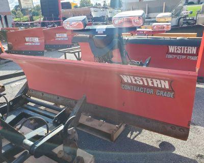 2013 USED UNITS Used Western 8' Pro Plus Plow Snow Plow Blades Harrisburg, PA