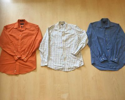 Men's Small button-up shirts
