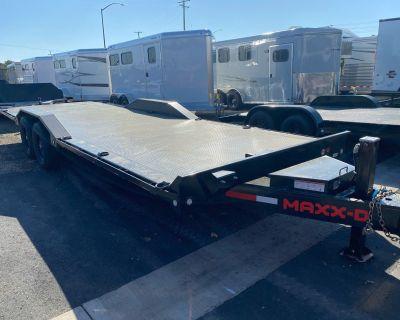 """2022 MAXXD TRAILERS 102""""X24 14K CHANNEL POWER TILT T6X Trailer Elk Grove, CA"""