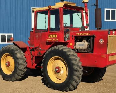 1973 Versatile 300 Hydro-mechanical 4wd 3pt 1000 PTO Rare 200 made only year