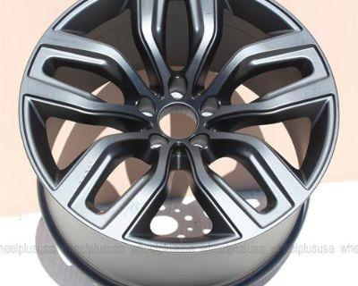 "20"" Bmw X5 X6 Sport M Style 337 Staggered Wheels Rims 5x120 Matte Black"
