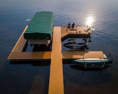 2021 FLOE INTERNATIONAL DOCK & LIFTS Boat Docks Trego, WI