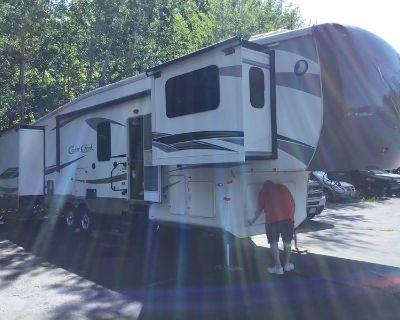 2014 Forest River Cedar Creek 38Ft Front Living