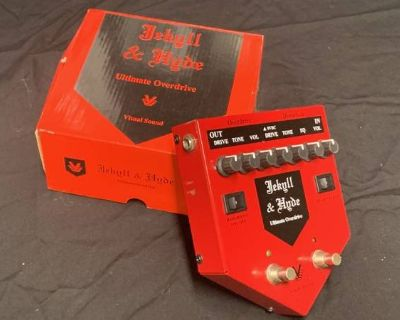 Visual Sound Jekyll & Hyde Overdrive Pedal