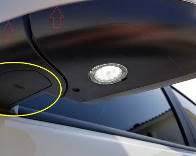 Maryland - WTB: Passenger Side View Mirror Access Panel