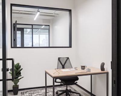 Private Office for 1 at Industrious Indianapolis Mass Ave