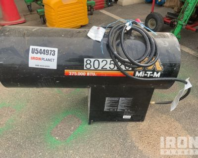 2015 (unverified) Mi-T-M MH-0375-LM10 375000 BTU Space Heater