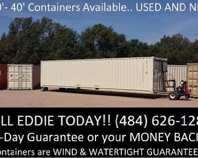 40' Shipping Containers For Sale! Other sizes available!