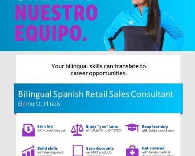 Bilingual Spanish Full Time Retail Sales Consultant