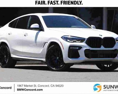 New 2021 BMW X6 Sports Activity Coupe