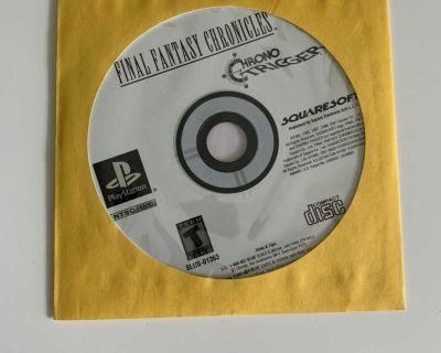 Final fantasy chronicles/chrono trigger PS1