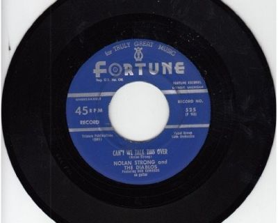 DIABLOS & NOLAN STRONG ~ Can't We Talk This Over*VG+45 !