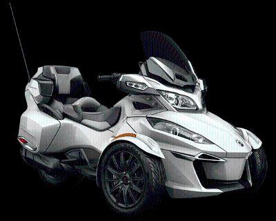 2016 Can-Am Spyder RT-S SM6 3 Wheel Motorcycle Cartersville, GA