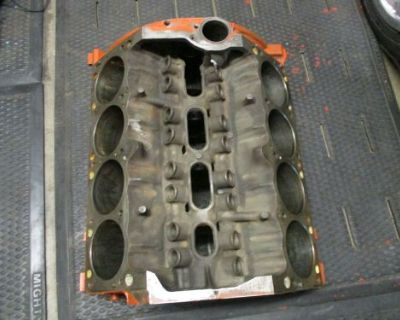 Mopar 340 Engine Bare Block 1972 Bore .030 Over Dodge Chrysler Plymouth