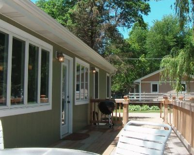 2 Bedroom Sleeps Up To 8 With Boat Slip MAX. 18' power trim only! Dogs Welcome! - Delavan Lake