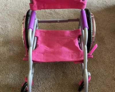 Wheelchair for 18 doll