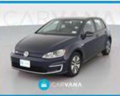 2016 Volkswagen e-Golf Blue, 22K miles