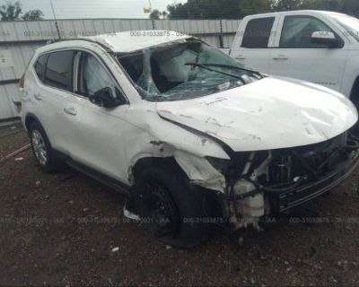 Salvage White 2017 Nissan Rogue