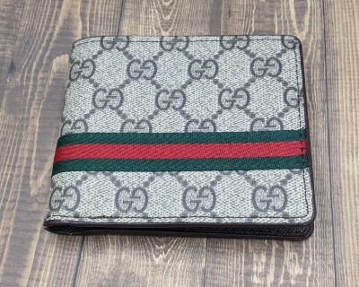 Gucci monogram men's wallet