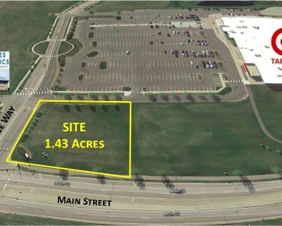 1.43 Acres at Entrance to Target & Twin Cities Orthopedics Performance Center For Sale