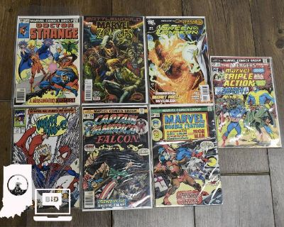 Indianapolis Auction with Comics, Coins, Jewelry, and More