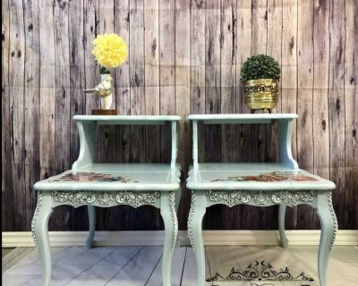French Provincial/vintage side tables