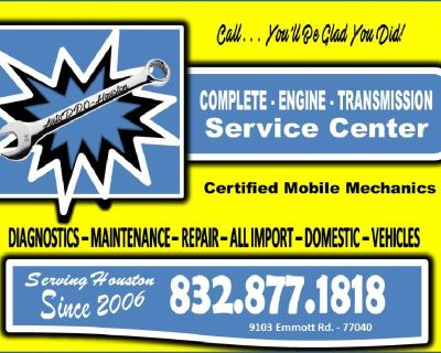 Transmission and Engine Diagnostics and Repair