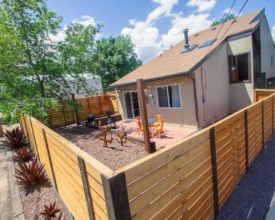 Newly renovated Rustic-Modern Townhome A in Ivy Wild/Downtown - Southwest Colorado Springs