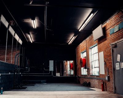 Grungy Industrial Warehouse Style Gym Studio, DENVER, CO
