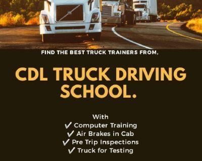 CDL TRUCK TRAINING