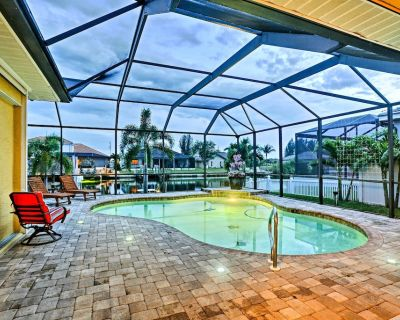 Cape Coral House w/ Private Dock, Pool & Tiki Bar! - Burnt Store