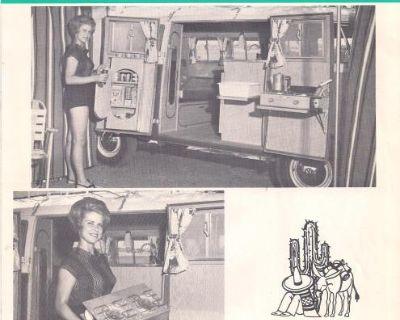 1964 4 Page EZ Camper Bus Sales Brochure #2