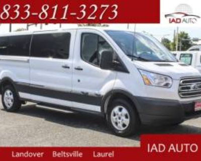 "2017 Ford Transit Passenger Wagon T-350 XLT with Sliding RH Door 148"" Low Roof"