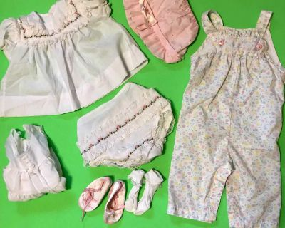 CUTE 6-MO. BABY OUTFITS