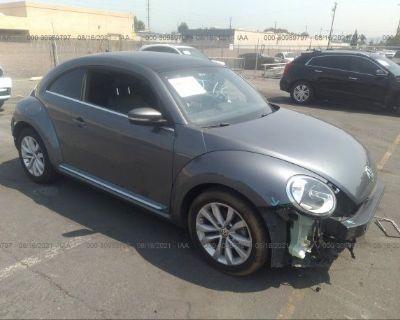 Salvage Gray 2013 Volkswagen Beetle