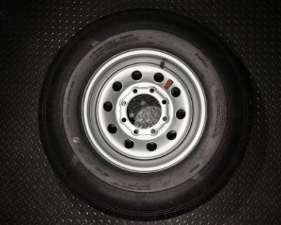 16 Trailer Tire And Wheel - 235 80 R16 - 10 Ply - Trailquest