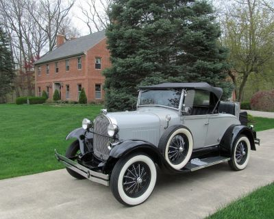 1929 Ford Model A Roadster Replica BY Shay