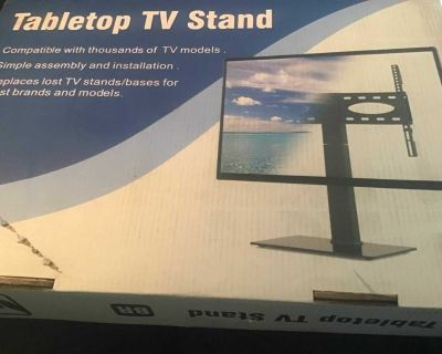 Tabletop Tv stand new in box